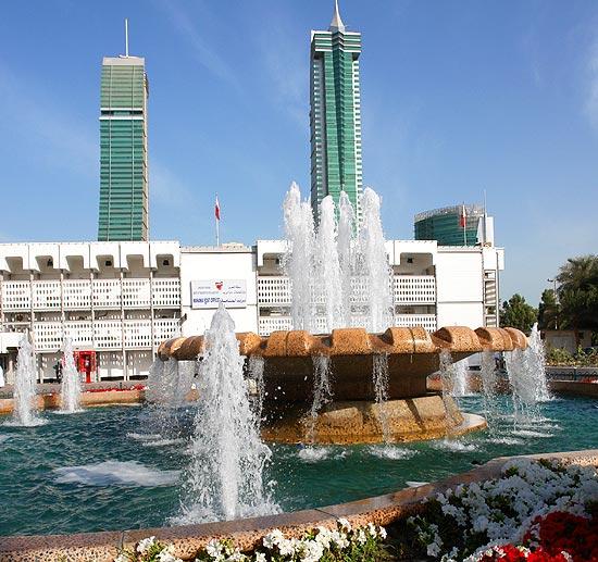 Manama al manama hauptstadt des königreichs bahrain abb city